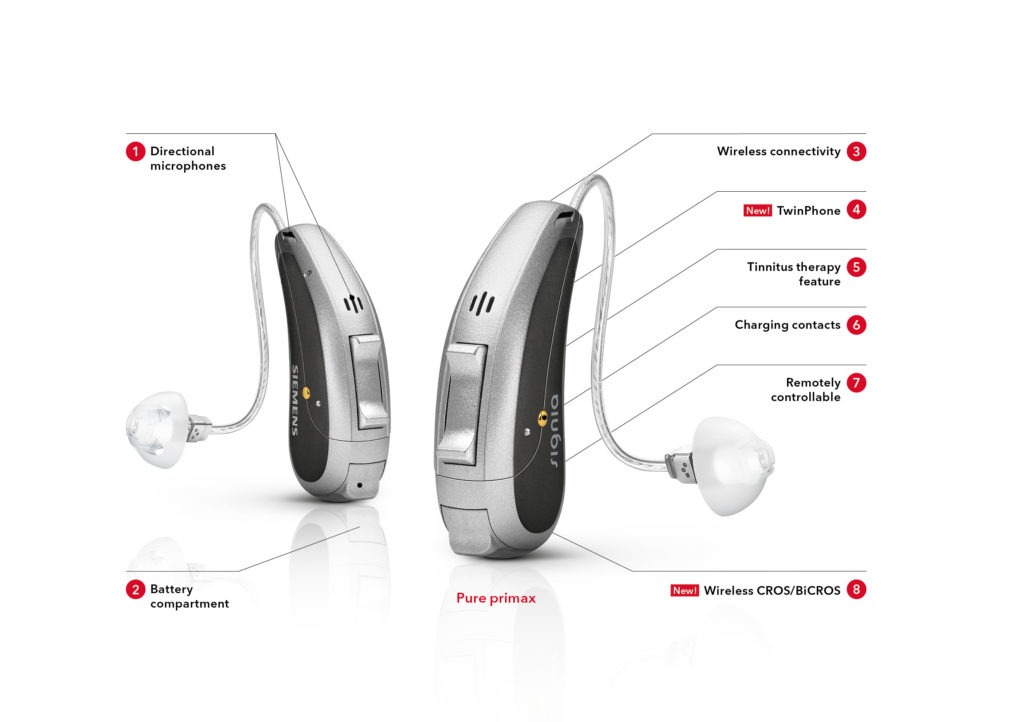 Siemens Pure Primax 7px hearing aids