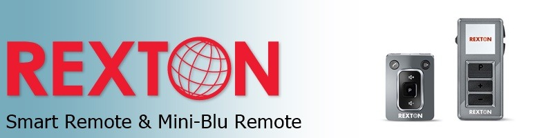 Rexton Smart Remote and Mini-Blu Control