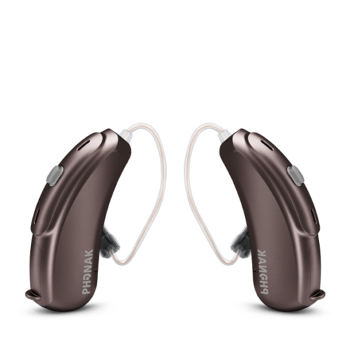Phonak Audéo Hearing Aids - Chestnut