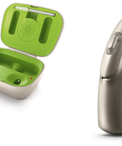 Phonak audeo B-R and recharger case