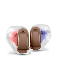 Signia Silk Primax 7px CIC hearing aids