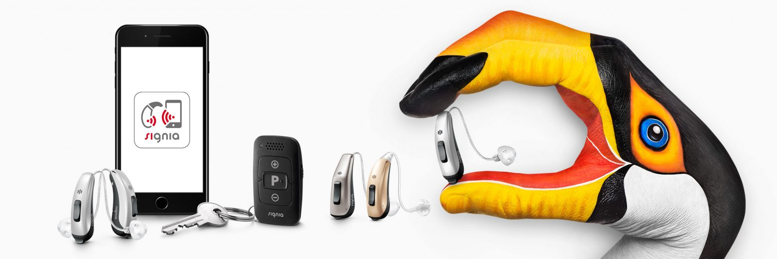 SIGNIA Pure® 312 7Nx Hearing Aids + Streamline TV Transmitter