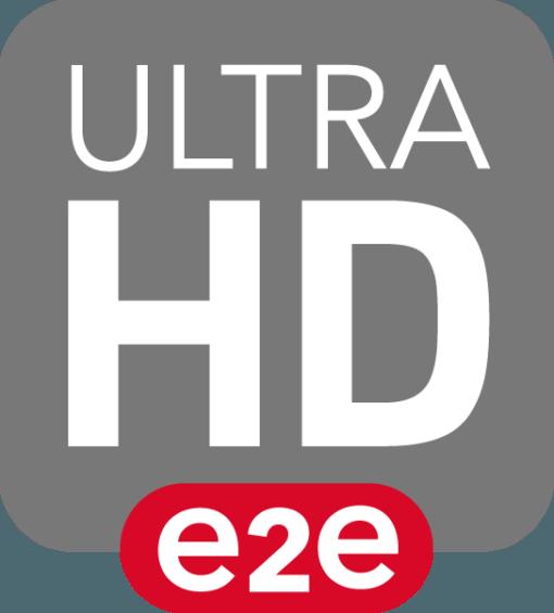Ultra HD e2e logo