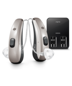 SIGNIA Pure™ Charge&Go Nx Hearing Aids + Streamline TV Transmitter