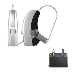 Pair – Widex Beyond 220 Hearing Aids (iPhone Direct) + Rechargeable Bundle