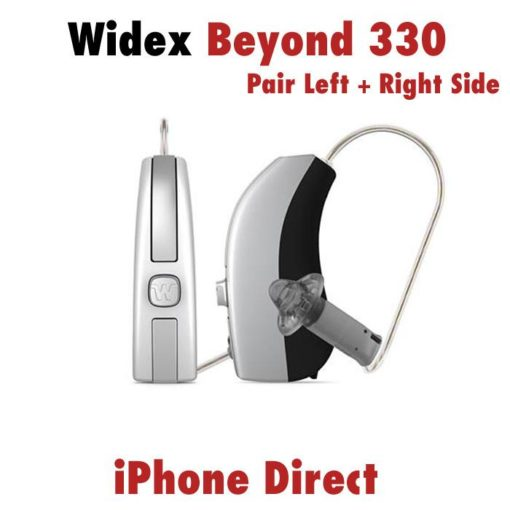 Pair - Widex Beyond 220 Hearing Aids (iPhone Direct) + Rechargeable Bundle