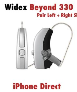 Pair - Widex Beyond 330 Hearing Aids (iPhone Direct)