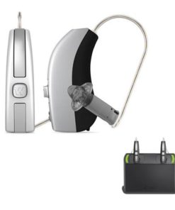 Pair - Widex Beyond 440 Hearing Aids (iPhone Direct) + Rechargeable Bundle