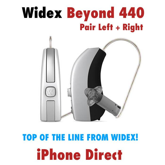 Pair - Widex Beyond 440 Hearing Aids (iPhone Direct ...