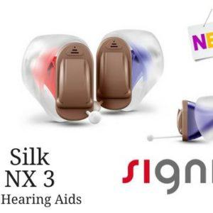 PAIR OF Signia Silk Nx 3 (CIC)